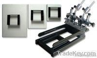 1-1 Micro-Adjustable Screen Printing Machine with 3 pallets
