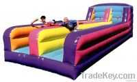 2013 newest Inflatable-Bouncy-Castle-with slide