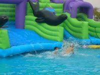 superior quality 0.9mm pvc inflatable aqua water park