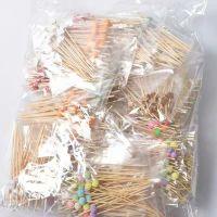 bamboo pearled picks
