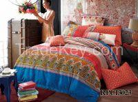 100% cotton reactive printing bedding sets comforter sets duvet cover sets