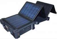 50W portable solar power system