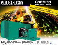 Rent a Generator in Karachi & Sindh (20 kva to 350 kva)