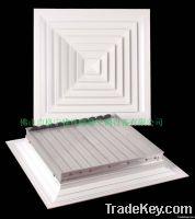square air diffuser