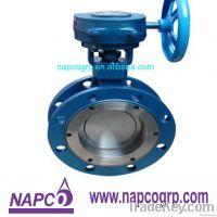 Nickel Aluminum Bronze C95800 fire safety butterfly valve