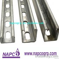 Hot dip galvanized slotted unistrut struct channel systems