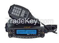 VHF/UHF dual reception Mobile ham radio transceiver Air - band receiving CB Mobile Car Radio with Scrambler TC-MAUV11 radio transceiver