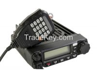 400-490Mhz 45W/25W/10W Mobile uhf cb radio with Emergency Alarm TM-8600 with DTMF microphone ham mobile radio