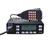 10W Dual Band Mobile 2 Way Radio TC-898UV Dual Reception/Dual Display+Scrambler+Programming Cable and Software Dual Band Mobile radio