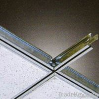 T32 China Hot Sell Re-cycled Material Black Grooved Ceiling t grids