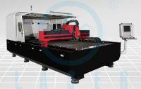 High speed thin metal cutting using fiber laser cutter