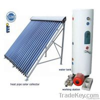 glass vacuum tube solar collector&solar energy system