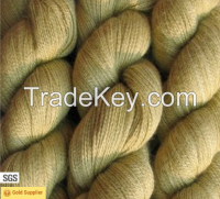 Soft merino wool yarn with vivid color use for knitting