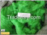 Dyed colored Merino sheep wool with 20.5mic