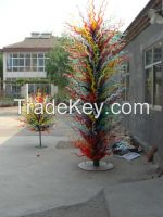murano home hotel  combined Artistic glass Sculpture for garden public occasion