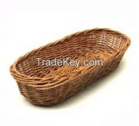 plate/tray & wicker basket tray for food packing