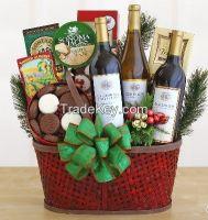 wicker basket & storage basket for Christmas holiday use. Eco-Friendly