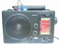 Portable Radio with USB SD Rechargeable battery big size Big Sound System High Sensitivity with Aux IN AC DC power supply