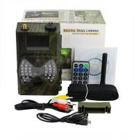 HD 1080P GPRS MMS Wild Wildlife  Game Scouting Cameras Hunting Trail Cameras GPRS MMS with remote Control
