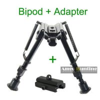 6~29 inch Harris Bipods as Fore Grip Tactical Bipod with Universal Adapter