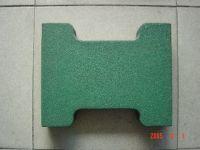 Dogbone rubber paver, I-brick rubber mat