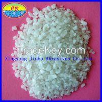 JINBO white fused corundum 0-1-3-5-8mm