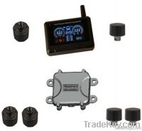 TPMS for truck and trailer with external sensors