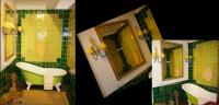 Decorative furniture using artistic tiles