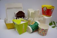 coffee cups, cold beverage cups, paper bowl, paper bucket, handcraft paper bags