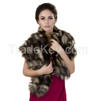 Faux fur stoles and coats for women & men