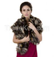 Faux fur stoles and coats for women & men