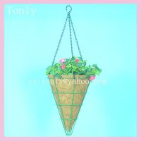 Wire  Hanging  Basket, Wire Hanging Basket with Coco Liner,Metal Hanging Basket