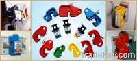 Miniature circuit breaker lockout devices