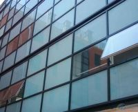 Glass used in curtain walls