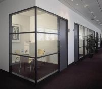 Fire-resistant glass for cut off