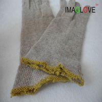 IMAGlove 50% Cashmere 50% Wool leather glove lining