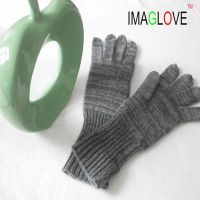 100% Cashmere Knitted liner,leather glove lining