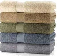Towels Dyed