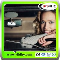 RFID windshield label