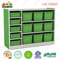 colorful kindergarten school toy storage cabinet kids smart furniture
