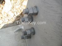 Anti Theft and Anti Loose Hex Nuts ATDS M-20 with Spring and Ball
