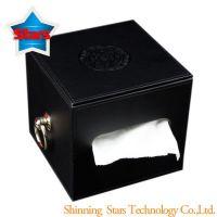 Artificial Stitching PU Tissue Box High Quality