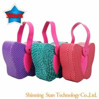 Butterfly Fashion Portable Paper Jewelry Case/ Bag with Red Color