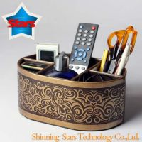 Desk Organizer Box (Leather)