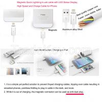 New arrival metal magnetic cable for micro usb