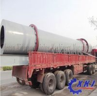 Stable running with convenient operation rotary dryer for drying many kinds of material