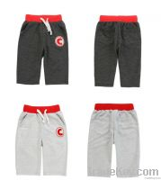 "Logo ""C"" half-inch boys hot pants"