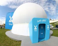 Inflatable Mobile Projection Dome Tent
