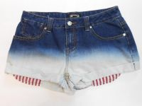 Ladies Denim (Dip Bleach Hotpants)
