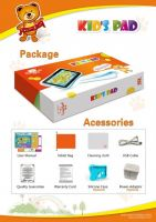 7 inch kids learning pad with true manufacturer